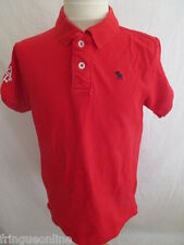 Polo Abercrombie & Fitch Rouge Taille 12 ans à - 52%