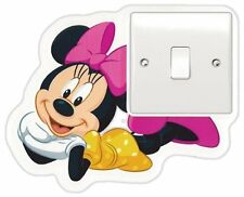 DISNEY MICKEY MINNIE MOUSE SWITCH  WALL STICKER NURSERY/KIDS/GIRLS/BOYS ROOM