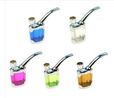 Tobacco Pipe Tube Holder Filter Water Smoking Hookah Mini Cigarette Tube