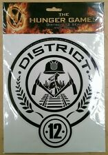The Hunger Games - Laptop Decals Sticker District 12 NEW