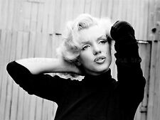 MOVIE FILM ACTRESS MARILYN MONROE BLONDE BOMBSHELL POSE VINTAGE POSTER LV10082