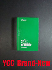 Mead Fat Little Neatbook 200S', College Ruled, 5.5 x 3.5 in, Cover Color green