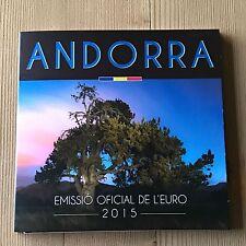Andorra 2015 KMS Kursmünzensatz SET 8 MÜNZEN BU IM FOLDER  3,88 €  1 Cent-2 Euro