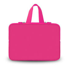 "Pure Plain Neoprene 12"" Laptop Tablet PC Bag Netbook Sleeve Bag Pouch Case Cover"