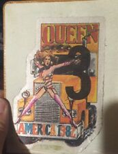 Queen 1982 Backstage Pass. Autograph Brian May And Roger Taylor