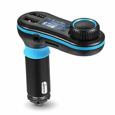 AVANTEK Wireless Car Radio Bluetooth FM Transmitter Kit Aux Cable Car Charger