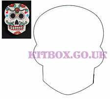 Halloween Day of the dead Skull Cutter for Cookies, cake decorating and crafts