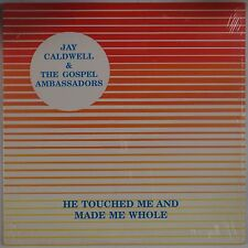 JAY CALDWELL & THE AMBASSADORS: He Touched BLACK GOSPEL Private Funk LP MP3