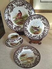 "Spode ""Woodland"" 5pc. Place Setting Set - Made in England NEW In Box!!"