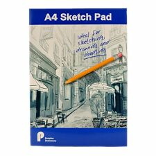 A4 Artist Sketch - Drawing Book Pad 100 Sheets 70 gsm Sketching Paper - Blue