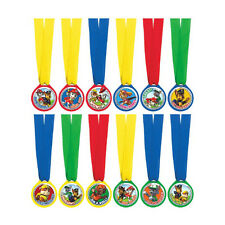 12 Paw Patrol Puppy Pets Children's Birthday Party Loot Favour Award Medals