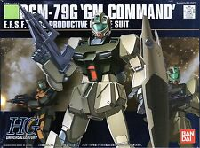 [012] BANDAI MODEL KIT GUNDAM HGUC RGM 79G GM COMMAND GUNPLA SCALA 1/144