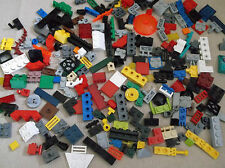 LEGO 100 SMALL PIECES MIX UNUSUAL RARE FINISHING PARTS HINGES CLIPS TILES BRICKS