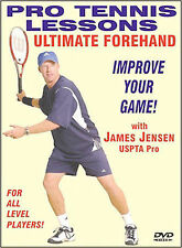 """Pro Tennis Lessons """"Ultimate Forehand"""" BRAND NEW FREE SHIPPING"""