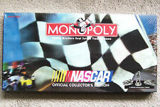PARKER BROTHERS BOARD GAME ~ NASCAR MONOPOLY ~ NEW STILL SEALED IN THE BOX