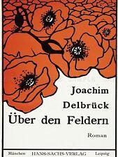 ADVERTISING BOOK UBER DEN FELDERN JOACHIM DELBRUCK POPPY ART POSTER PRINT LV547
