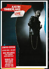 Justin Timberlake - Live In London - DVD and CD Set (PAL: Region 4)