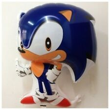Set of 4  SONIC THE HEDGEHOG HELIUM FOIL BALLOONS BIRTHDAY PARTY SUPPLIES