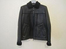 Valentino Black Shearling Jacket