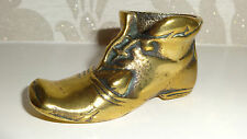 GORGEOUS BRASS ORNAMENTAL BOOT - VINTAGE & HIGHLY COLLECTABLE!