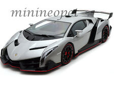 AUTOART 74506 LAMBORGHINI VENENO 1/18 DIECAST MODEL CAR GREY