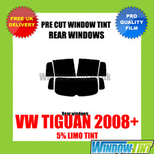 VW TIGUAN 2008+ 5% LIMO REAR PRE CUT WINDOW TINT