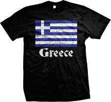 Greece Flag Greek Country Colors Pride 2014 World Cup - Men's T-shirt