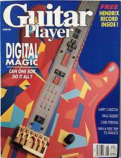 Guitar Player Magazine June 1989 Digital Magic / Larry Carlton / Paul Gilbert
