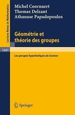 Lecture Notes in Mathematics: Geometrie et Theorie des Groupes : Les Groupes...