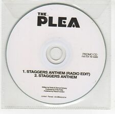 (GI86) The Plea, Staggers Anthem - 2012 DJ CD