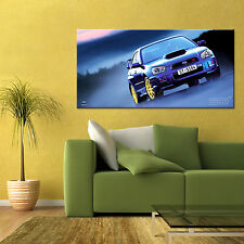 SUBARU IMPREZA WRX STI  LARGE AUTOMOTIVE HD POSTER ART 24x48 in