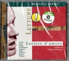 GIORGIO ALBERTAZZI - LETTERE D'AMORE -CD NUOVO SIGILLATO FREUD PROUST D'ANNUNZIO
