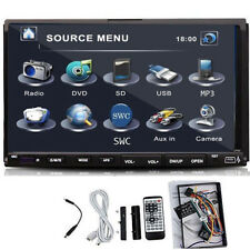 "Auto Stereo Audio riproduttore DVD 7""Touch Screen 2Din Dash Radio CD SD MP3 USB"
