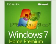 MICROSOFT WINDOWS 7 HOME PREMIUM 32/64 BIT ESD** ORIGINALE** FATTURA**