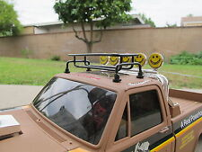 Roof luggage Rack Tamiya RC 1/10 Clodbuster Hilux F350 Bruiser Bronco Pajero Man