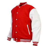 Unisex Varsity Style Christmas Letterman University College Baseball Jacket New