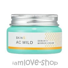 [Holika Holika] Skin & AC Mild Sebum-x Mirror Cream 60ml Acne