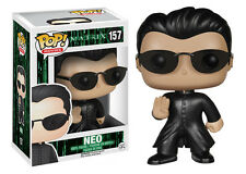 Funko Pop Movies The Matrix: Neo Vinyl Action Figure 4185 Collectible Toy, 3.75""