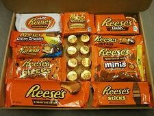 Large Reese's American Candy Gift Box - Wedding Birthday Party Retro Sweets R18