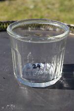 Ancien joli pot à confiture - 12 facettes - REF 24
