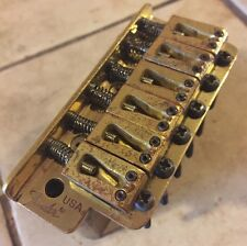 Fender Vintage USA Brass Strat Stratocaster Tremolo Bridge schecter brass block