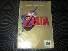 N64 Instruction Booklet - Zelda Ocarina Of Time
