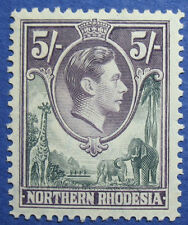 1938 NORTHERN RHODESIA 5S SCOTT# 43 S.G.# 43 UNUSED                      CS09223