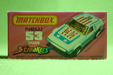 Modellauto - Matchbox - Superfast - Nr. 53 Tanzara Streakers in weiß - OVP