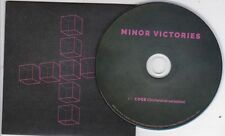 MINOR VICTORIES COGS RARE 1 TRACK PROMO CD [ORCHESTRA VARIATION MOGWAI EDITORS]