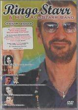 RINGO STARR AND HIS ALL STARR BAND TOUR 2003 DVD F.C. BEATLES SEALED!!!