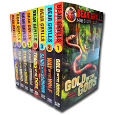 Bear Grylls Mission Survival Collection 8 Books Set 1 - 8 Vol Gold of the Gods