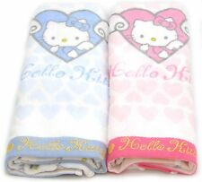Hello kitty Lovely Towel set Brand NEW 2pcs 31.5X15.7 100% cotton bath shower