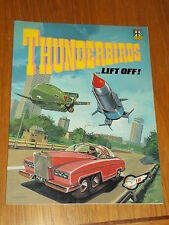 THUNDERBIRDS LIFT OFF RAVETTE BOOKS GERRY ANDERSON GRAPHIC NOVEL US MAGAZINE~