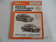 RTA FORD ESCORT ET ORION DIESEL BERLINE ET BREAK CLIPPER DEPUIS 1991    J73